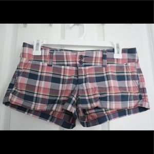 Abercrombie & Fitch Plaid Shorts